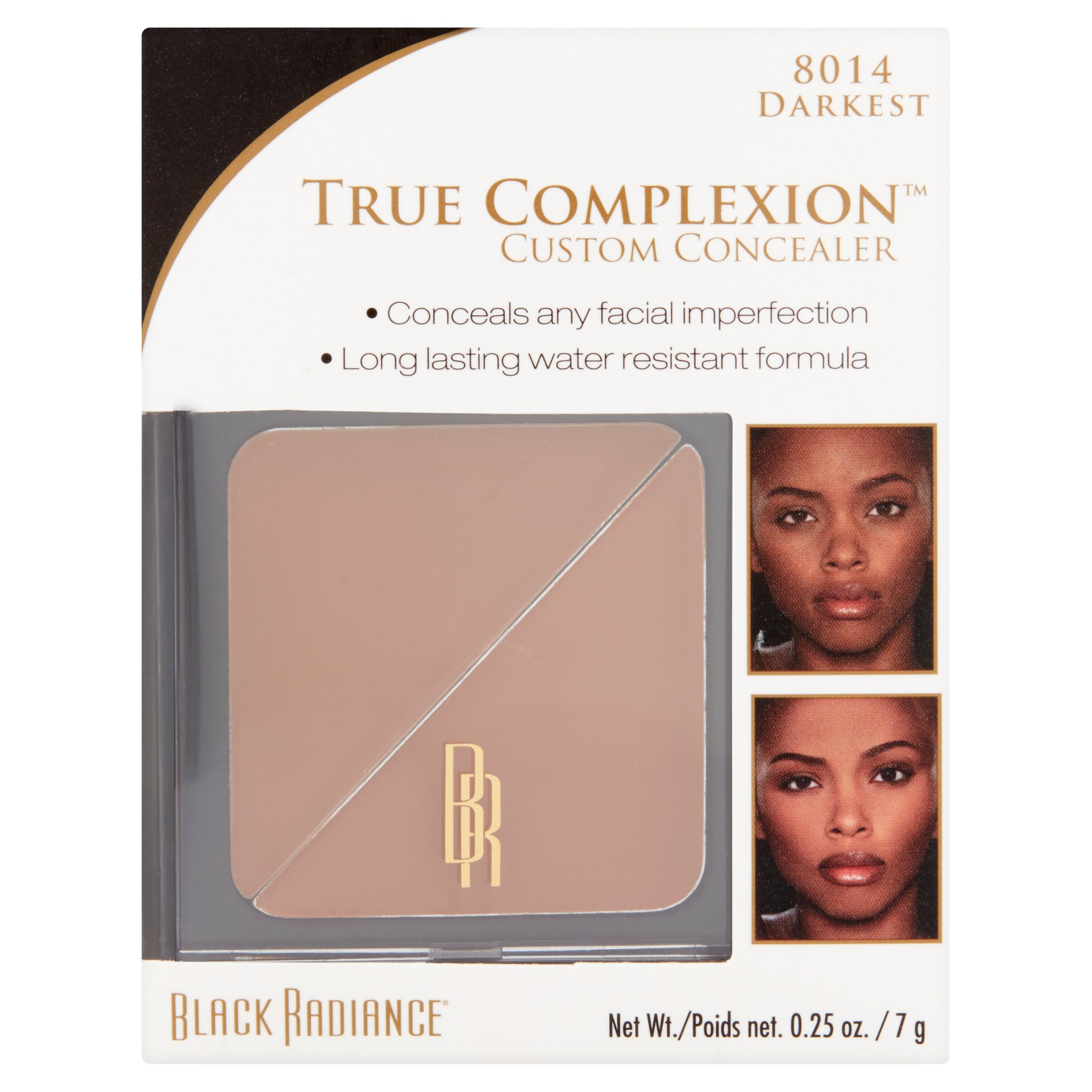 Black Radiance True Complexion 8014 Darkest Walnut Custom Concealer, 0.25 oz