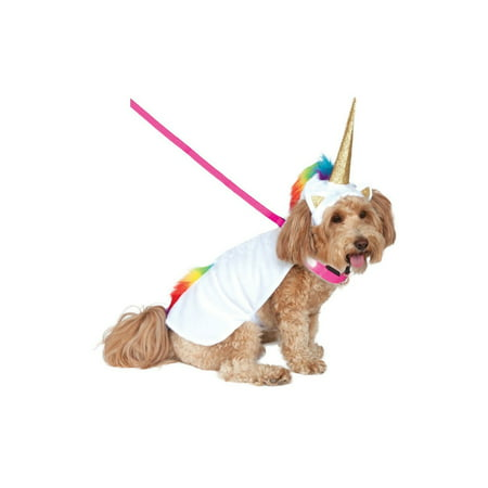Halloween Light Up Unicorn Cape with Hood Pet Costume - Halloween Costume White Button Up Shirt