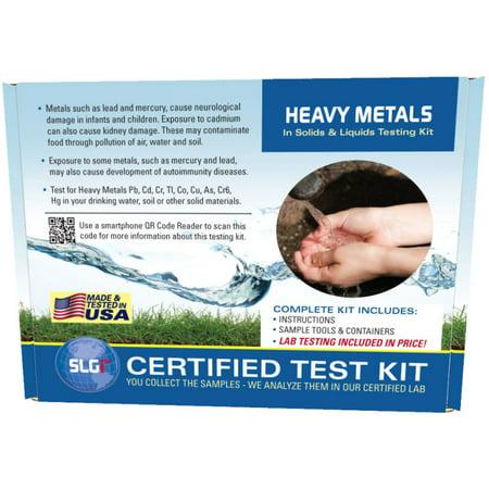 Heavy Metals Test Kit in Ground/Waste Water or Soil 1PK (5 Bus. Days) Schneider (Metal Test)