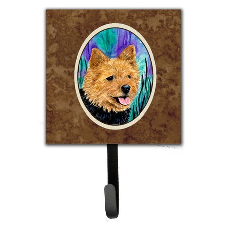 Caroline's Treasures Norwich Terrier Leash Holder and Key Hook