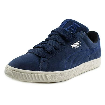 Puma States x Vashtie Round Toe Suede Sneakers