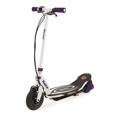 Razor Power Core E100 Electric Hub Motor Kids Toy Motorized Kick Scooter, Purple (E 100 Electric Scooter)