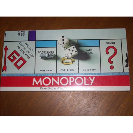 1975 Copyright MONOPOLY Board Game Model No. 9 by Parker (Monopoly Property Trading Game From Parker Brothers)