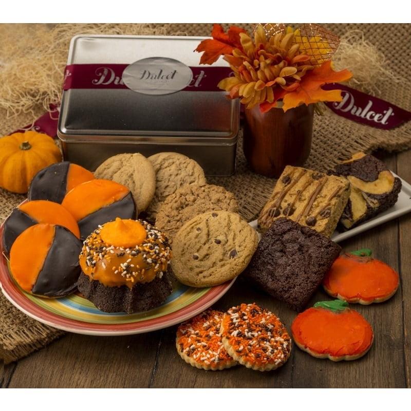 Dulcet Gift Baskets Dulcet's Assortment of Halloween Gourmet Desserts