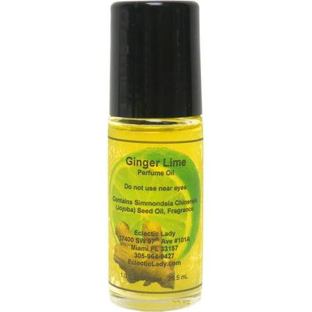 Ginger Lime Perfume Oil, Large