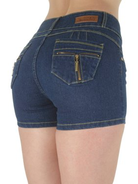 2d6bd9f325d42 Womens Plus Shorts - Walmart.com