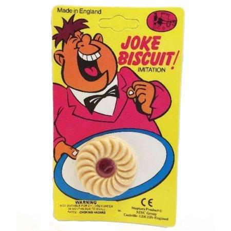 Bristol Novelty Fake Jam Biscuit - image 1 de 1