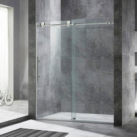 Woodbridge Frameless Sliding Shower Door 56 Quot 60 Quot Width