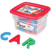 Educational Insights AlphaMagnets - Jumbo Multicolored Uppercase (42 pieces)