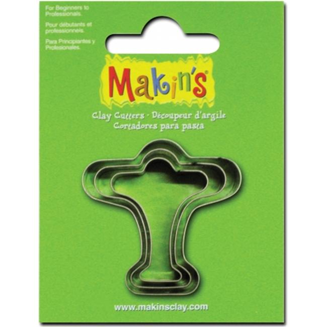 Makins USA 159307 Makins Clay Cutters 3-Pkg-Airplane
