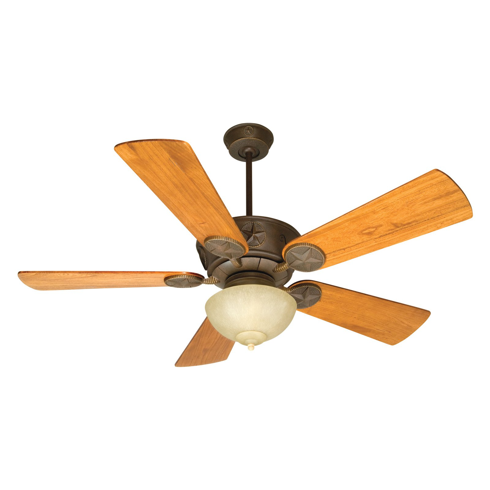 Craftmade Chaparral 54 in. Indoor/Outdoor Ceiling Fan with Bowl Light