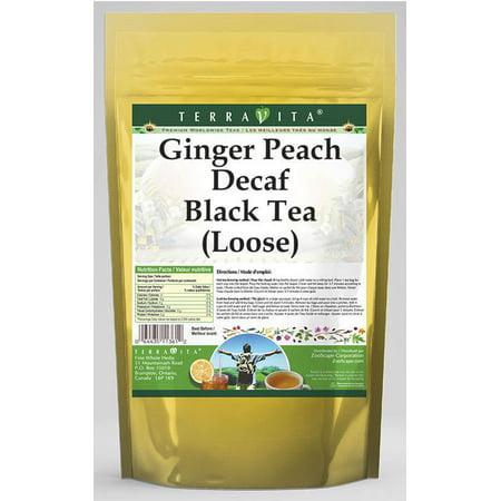 Ginger Peach Decaf Black Tea (Loose) (4 oz, ZIN: 530300) - 3-Pack