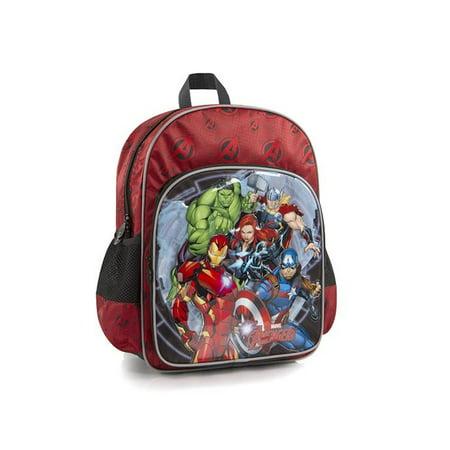 Marvel Avengers Kids Backpack 15 Inch School Bag For Boys Iron Man Thor