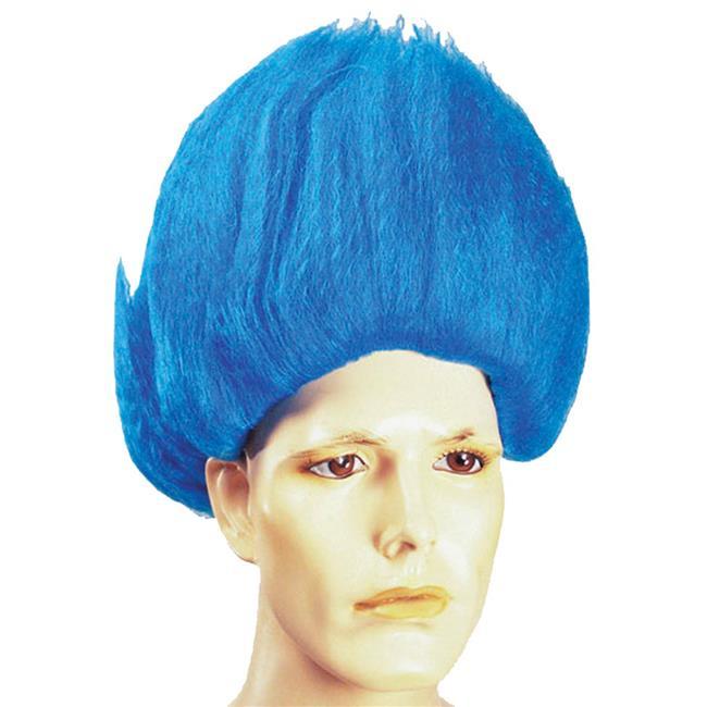 Elvi Sideburn Black Wig Costume - image 1 de 1