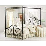 Dover Queen Bed, Black