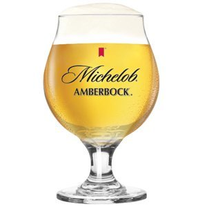 - Amberbock Glass, Michelob Amberbock Glass By Michelob,USA