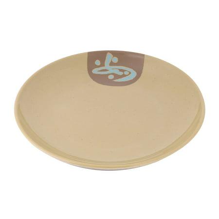 Kitchenware  Round Shape Fruit Holder Plate Olive Yellow 20.5 x (Olive Shape)
