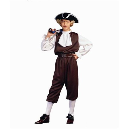 Colonial Boy Costume - Size Child-Medium](Boys Colonial Costume)