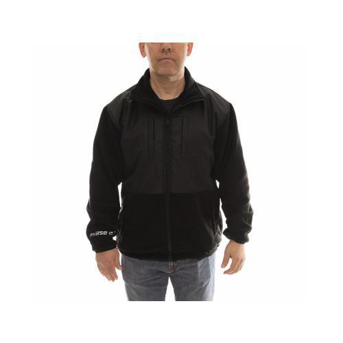 Tingley Rubber J73013.MD Hybrid Fleece Jacket, Black, Medium by TINGLEY RUBBER