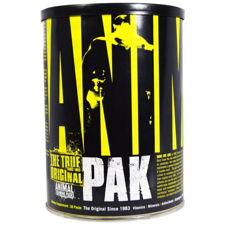 The True Original, Animal Pak, Animal Training Packs, 30 Packs