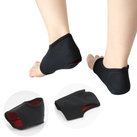 Pair Plantar Fasciitis Heel Arch Support Sleeve Foot Pain Relief Brace Cushion