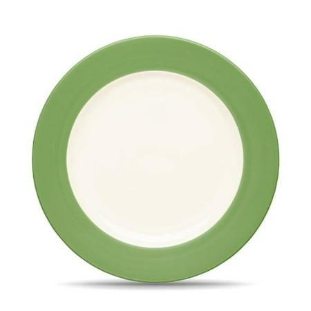 Noritake Wood - Colorwave Rim Dinner Plate, Apple Green, Durable Stoneware By Noritake
