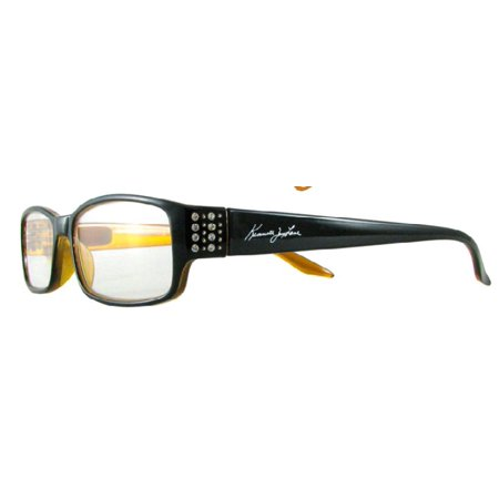 Kenneth Jay Lane 603 in Black with Gold, Red or Silver detail Kenneth Jay Lane Snake