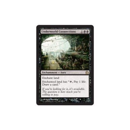 Underworld Connections  83    Return To Ravnica  A Single Individual Card From The Magic  The Gathering  Mtg  Trading And Collectible Card    By Magic  The Gathering