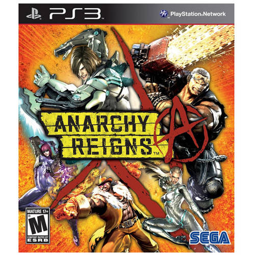 Anarchy Reigns (PS3) - Pre-Owned