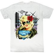 Marilyn Monroe Men's  M-Diamond T-shirt White