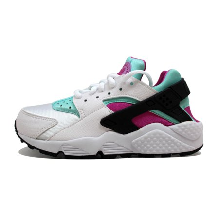 Nike Air Huarache Run White/Fuchsia Flash-Artisan Teal 634835-104 Women