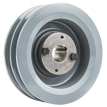 2 Piece Pulley - B Section Dual Groove 2 Piece 6