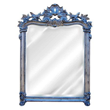 Universal English Manor - Hickory Manor House English Arch Floral Wall Mirror - 33W x 45H in.