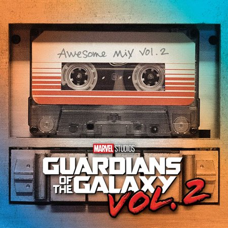 Guardians of the Galaxy Vol. 2 Soundtrack (CD)