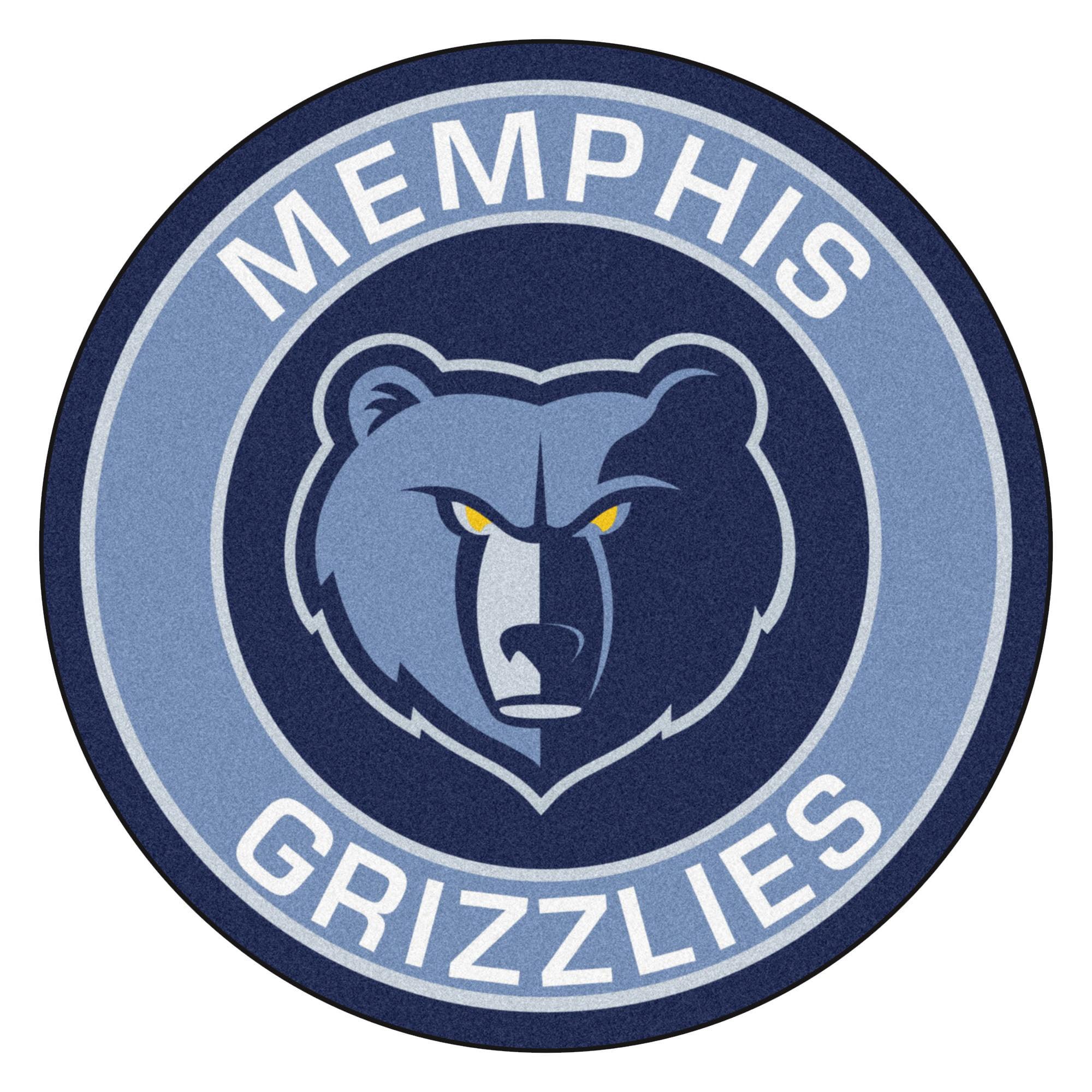 "NBA - Memphis Grizzlies Roundel Mat 27"" diameter"