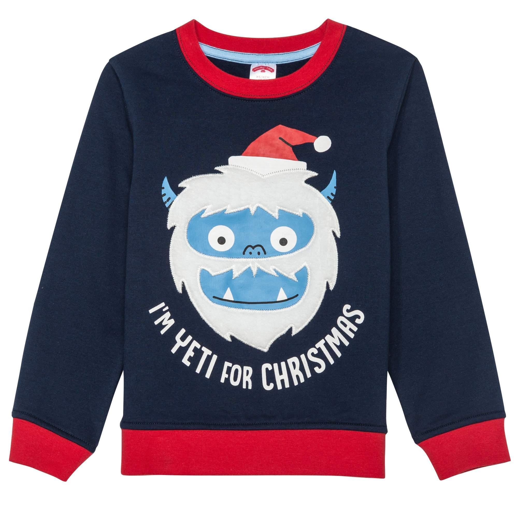 Christmas Christmas Sweater Little Boys Big Boys Walmartcom