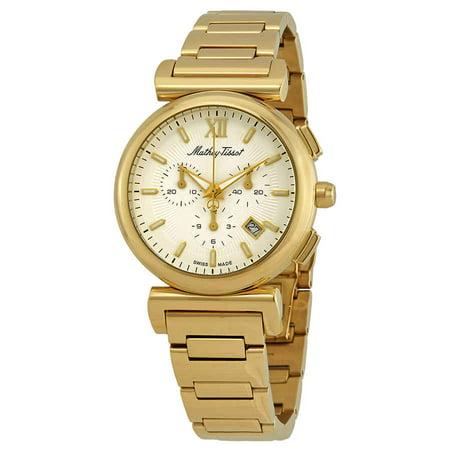 Mathey-Tissot Elegance Chronograph White Dial Men's Watch H410CHPI (Elegant Chronograph)