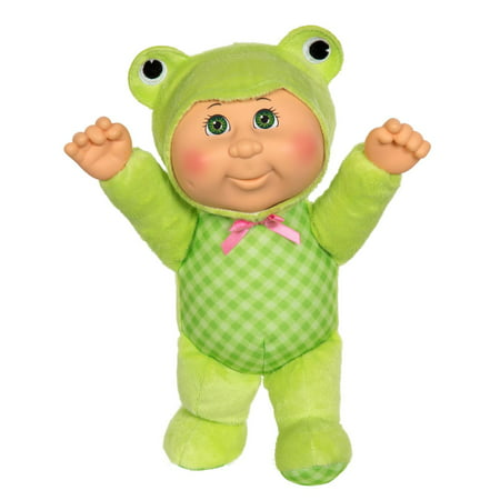 Cabbage Patch Kids Cuties Ophelia Frog Resin Doll Collection