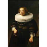 Buy Enlarge 0-587-60214-LP20x30 Woman with a Ruff Collar- Paper Size P20x30