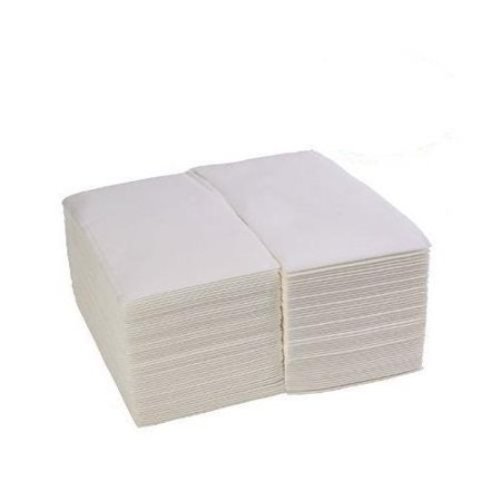 500 Pack - Linen Feel Guest Towels Disposable Cloth Like Paper Hand Napkins Soft, Absorbent, Paper Hand Towels White Guest Towel
