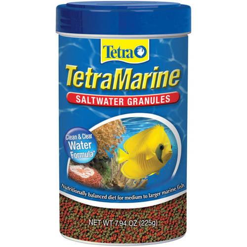 Aquatics TetraMarine Saltwater Granules Fish Food, 7.94 oz/500 mL Canister
