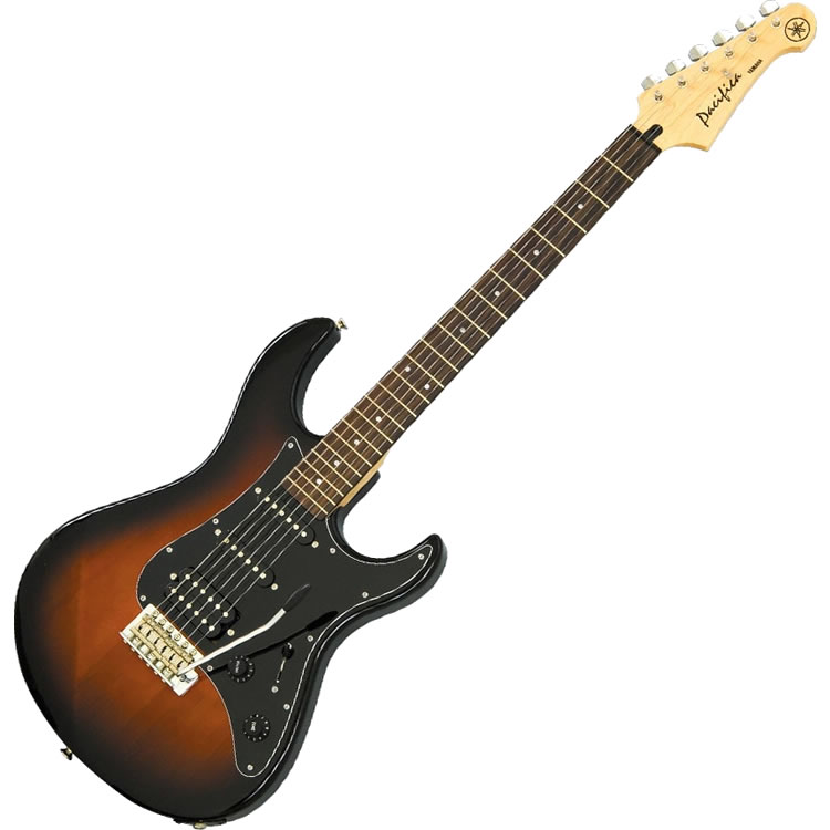 Yamaha PAC012DLX OVS Pacifica Double-Cutaway Electric Guitar (Old Violin Sunburst)