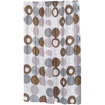 Royal Bath Madison Extra Long 100 Polyester Fabric Shower Curtain Size 70 Wide X 84