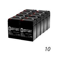 6V 4.5AH Battery For Best Choice Kids Ride On Model SKY1785 - 10 Pack