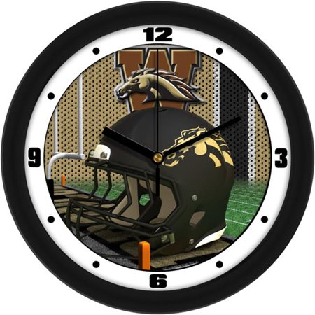 Suntime ST-CO3-WMU-HWCLOCK Western Michigan Broncos-Football Helmet Wall Clock