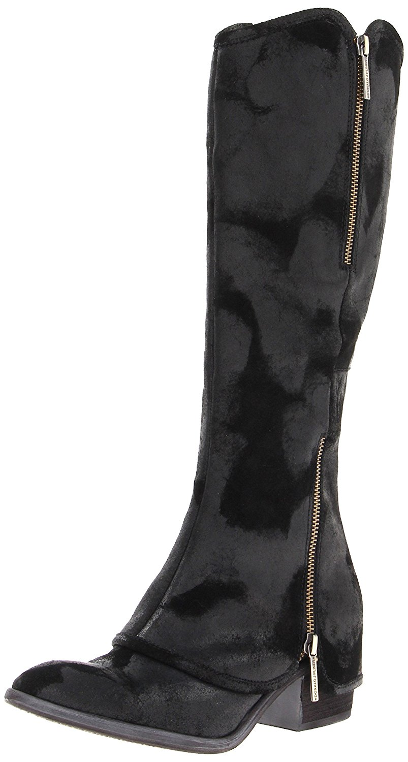 Click here to buy Donald J Pliner Devi 3 Reverse Calf Knee High Boots Shoes.