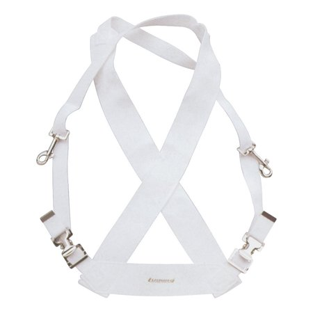 LF350W White Parade Marching Bass Drum Sling, Brand: LUDWIG By Ludwig