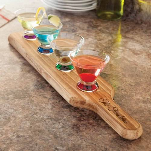 Personalized Family Name 5-Piece Tasting Set