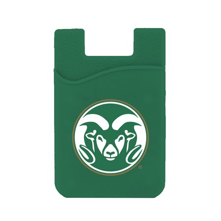 Colorado State Rams Silicone Card Keeper Phone Wallet (Colorado State Rams Lamp)