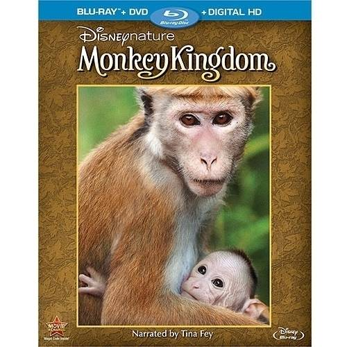 DISNEYNATURE-MONKEY KINGDOM (BLU-RAY/DVD/DIGITAL HD/2 DISC)